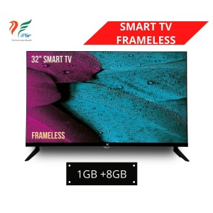 iAir 32'' SMART FRAMELESS LED TV (1GB + 8GB)
