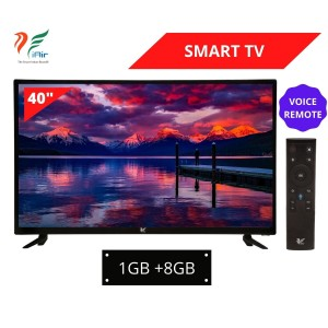 iAir 40'' SMART LED TV (1GB + 8GB) with Voice Remote