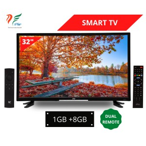 iAir 32'' SMART LED TV with Dual Remote (1GB + 8GB)